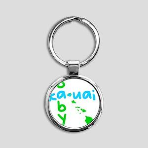 babykauaiblue Round Keychain