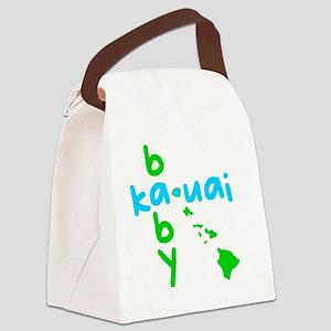 babykauaiblue Canvas Lunch Bag
