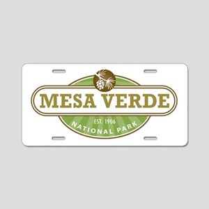 Mesa Verde National Park Aluminum License Plate