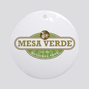 Mesa Verde National Park Ornament (Round)