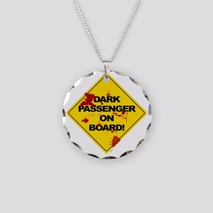 Dark Passenger On Board - bl Necklace Circle Charm
