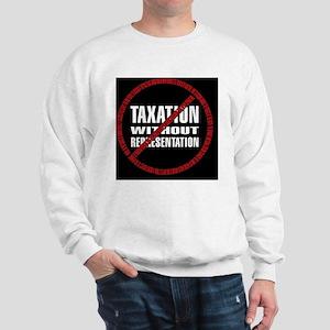 Taxation Declaration RW Bkgd Sweatshirt
