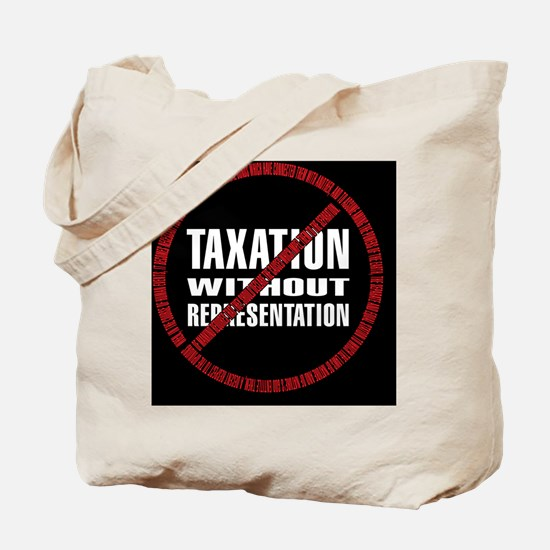 Taxation Declaration RW Bkgd Tote Bag