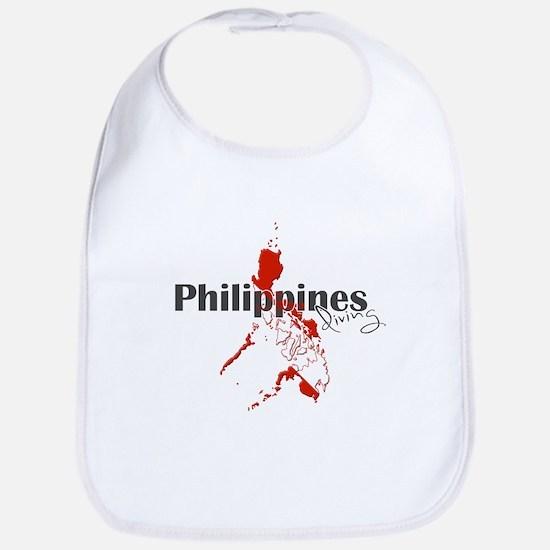 Philippines Diver Bib