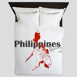 Philippines Diver Queen Duvet