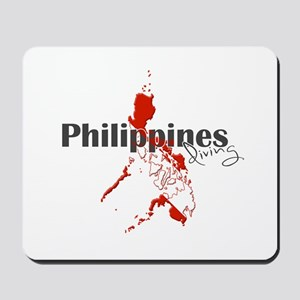 Philippines Diver Mousepad
