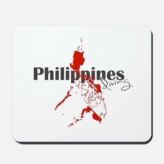 Philippines Diver Mousepad