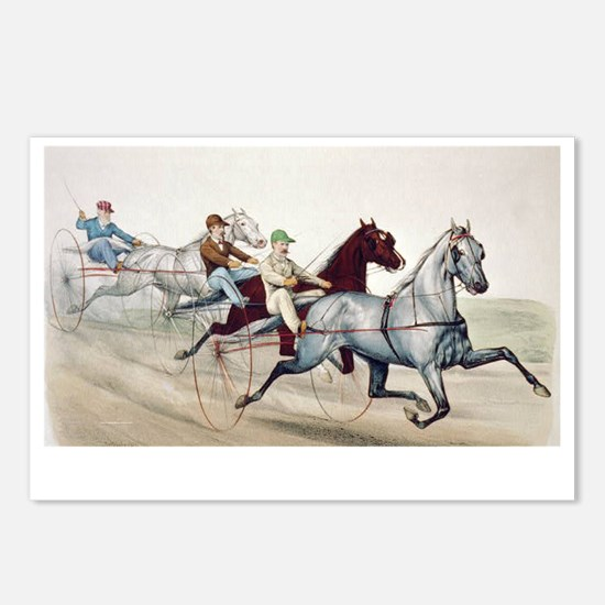 harnessracing1 Postcards (Package of 8)