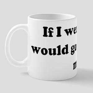 If I were you I would go out  Mug