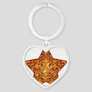 GoldleafStarTR Heart Keychain