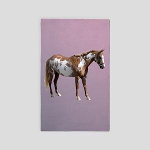 Pinto horse 3'x5' Area Rug