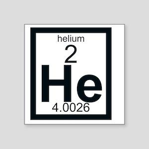 Periodic table helium stickers cafepress 002 helium square sticker 3 urtaz Images