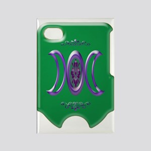 goddess bloom green i phone 4 sli Rectangle Magnet