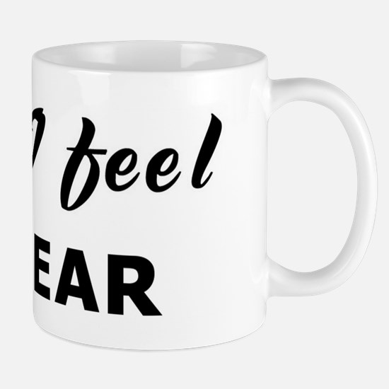 Today I feel unclear Mug