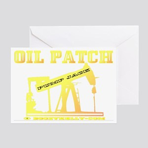 Oil Jack A4ab trsp Greeting Card
