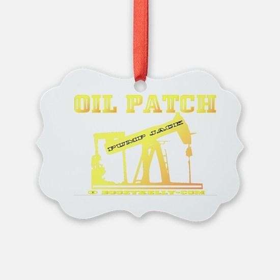 Oil Jack A4ab trsp Ornament
