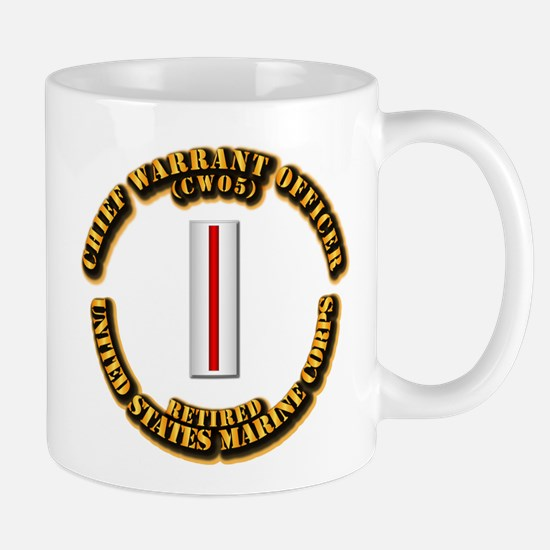 USMC - CW5 - Retired Mug