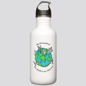 The worldcolor (2) Stainless Water Bottle 1.0L