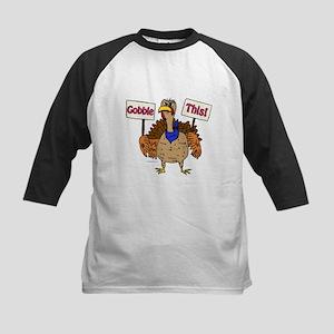 TurkeyToon~GobbleThis Baseball Jersey