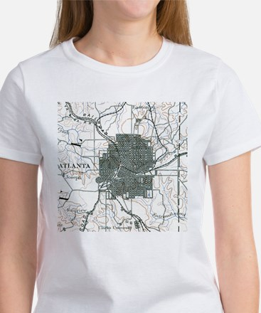 Atlanta, Georgia in 1888 Women's T-Shirt