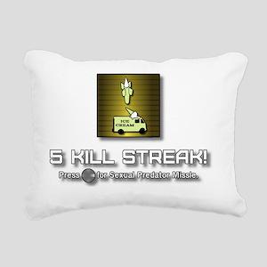 sexual_predator_missle2 Rectangular Canvas Pillow