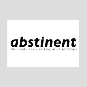 abstinent Mini Poster Print