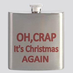 OH,CRAP. Its Christmas Again Flask