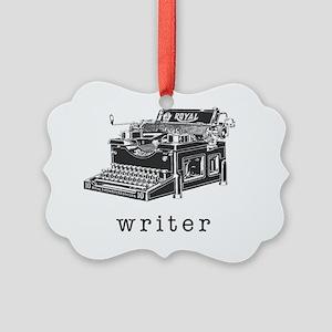 Writer Picture Ornament