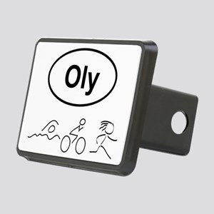 Oly Oval w figures 1 Rectangular Hitch Cover