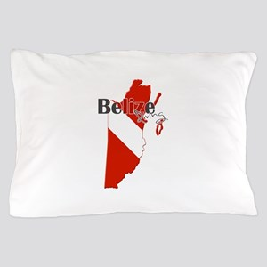 Belize Diving Pillow Case