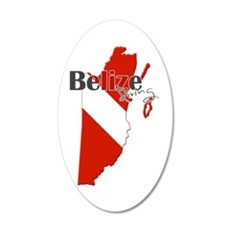 Belize Diving Wall Decal