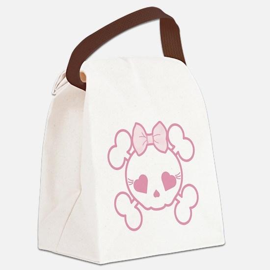 Goth Girl Canvas Lunch Bag