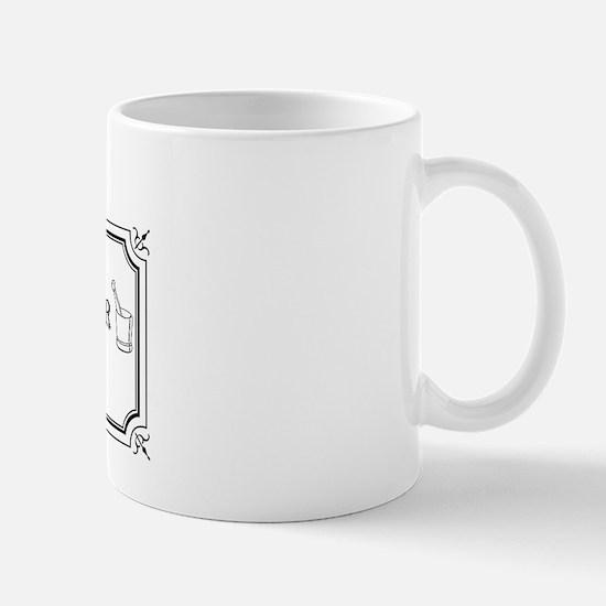 The Moose and Mortar Mug