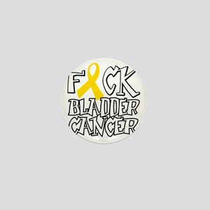Fuck-Bladder-Cancer-blk Mini Button