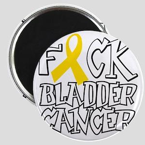 Fuck-Bladder-Cancer-blk Magnet