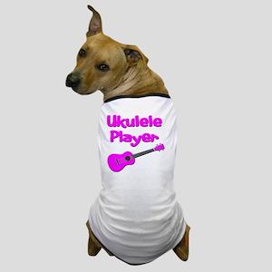 girls pink ukulele Dog T-Shirt