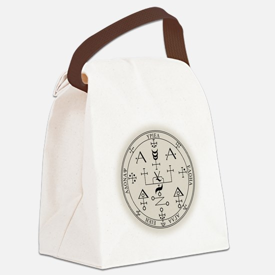 UrSealBlk Canvas Lunch Bag