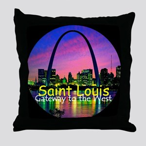 St Louis Throw Pillow