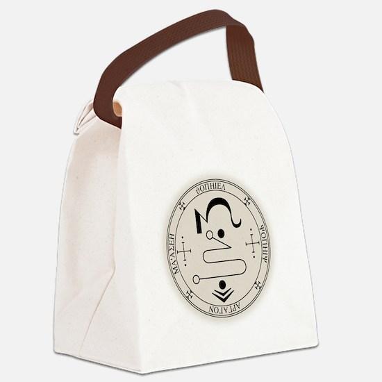 JopSealBlk Canvas Lunch Bag