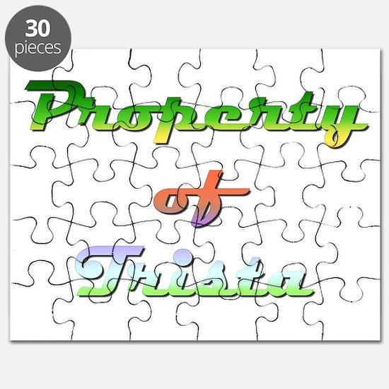 Property Of Trista Female Puzzle