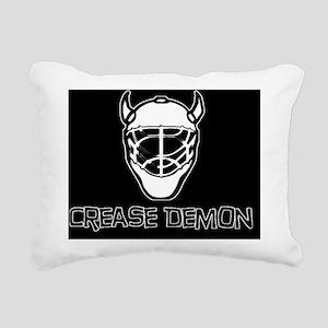 Crease Demon 2 Rectangular Canvas Pillow