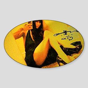 Bai Ling super sexy Sticker (Oval)