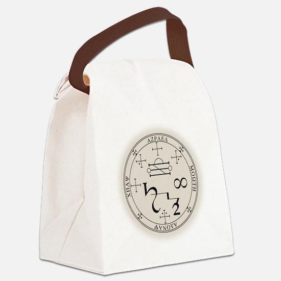 AzSealBlk Canvas Lunch Bag