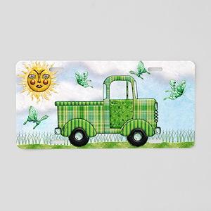 Harvest Moons Classic Truck Aluminum License Plate