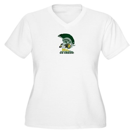 Sparty is hungry Plus Size T-Shirt