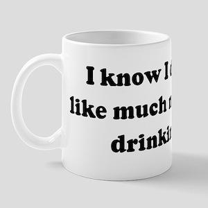 I know I don't look like much Mug