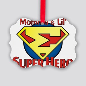 Lil_SuperHero4 Picture Ornament
