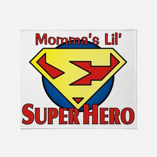 Lil_SuperHero4 Throw Blanket