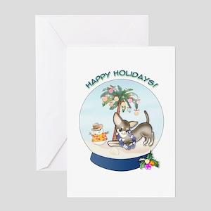 Chi Beach Christmas #2 Greeting Card