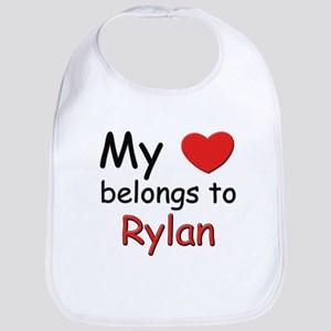 My heart belongs to rylan Bib